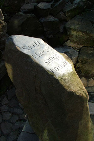 Memorial Stone Sculpture by Chris Hall